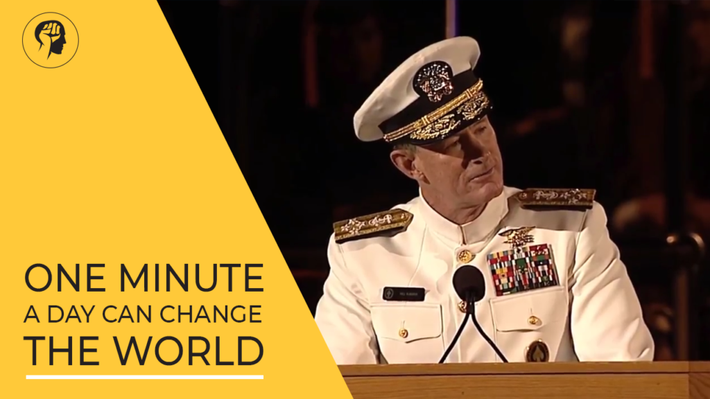 One Minute A Day Can Change The World